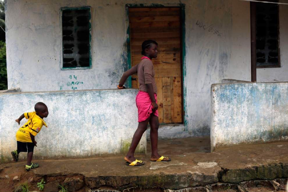 Many sick in US Ebola patient's Liberia hometown _lowres
