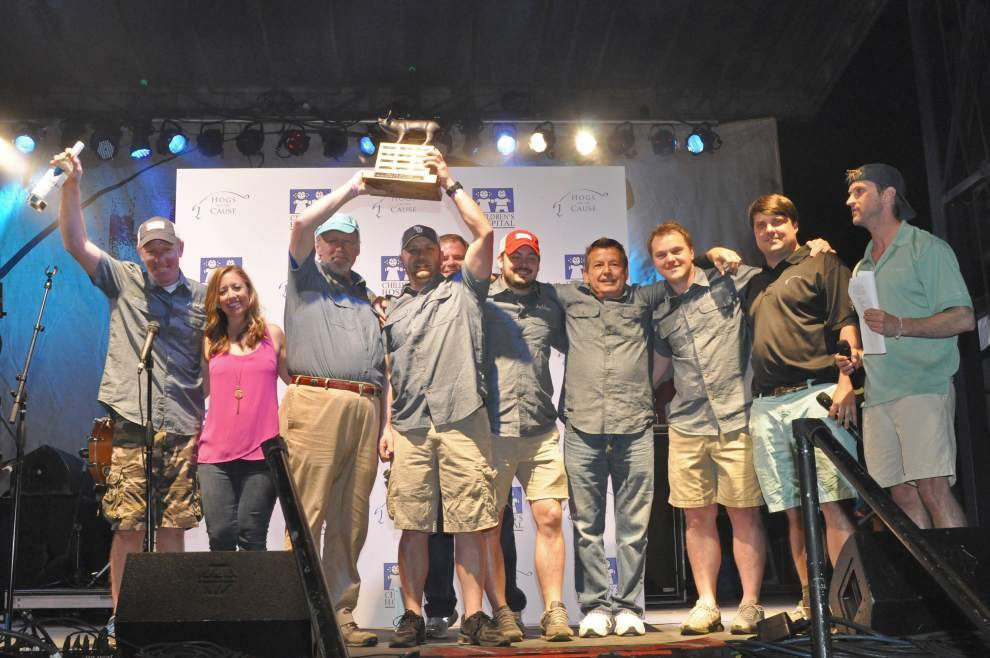 Hogs for the Cause raises $765,000 for pediatric brain cancer outreach _lowres