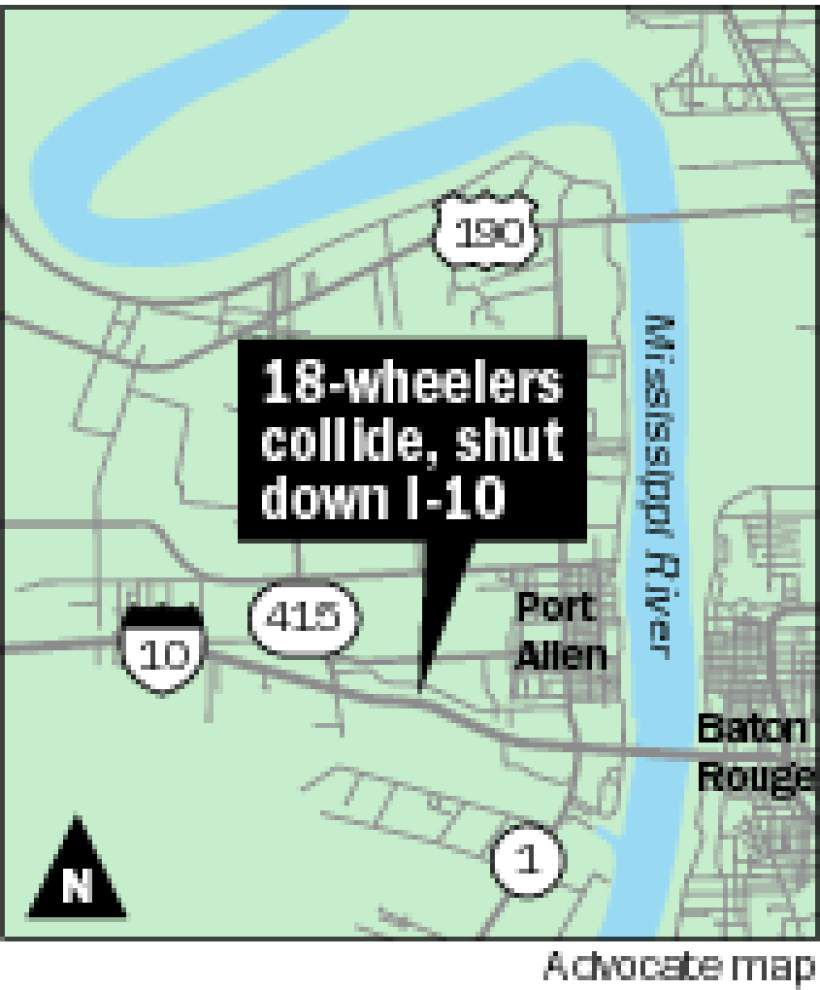 For school, industry leaders, I-10 crash illustrates how easily region can be paralyzed by traffic problem _lowres