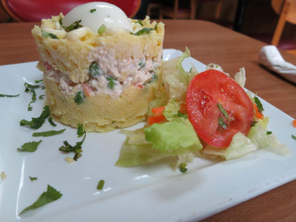 Digging In: Potatoes via Peru are a tasty first course at a Kenner cafe _lowres