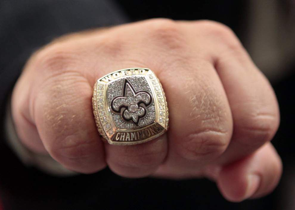 Get a piece of Super Bowl history: Saints championship ring is on sale for $45,000 on Craigslist _lowres