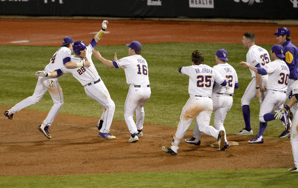 Live updates: LSU baseball goes for series sweep versus Cincinnati _lowres