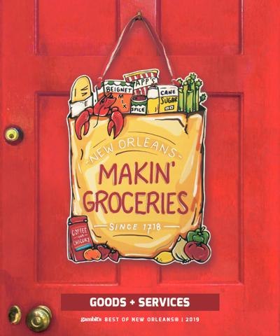 Makin' Groceries Door Hanger