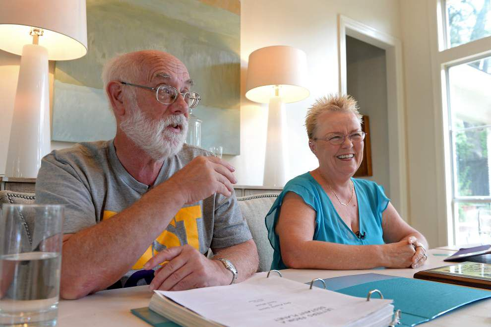Best of (pen) pals: Baton Rouge woman, British man celebrate 50 years of writing each other letters, faxes, emails _lowres