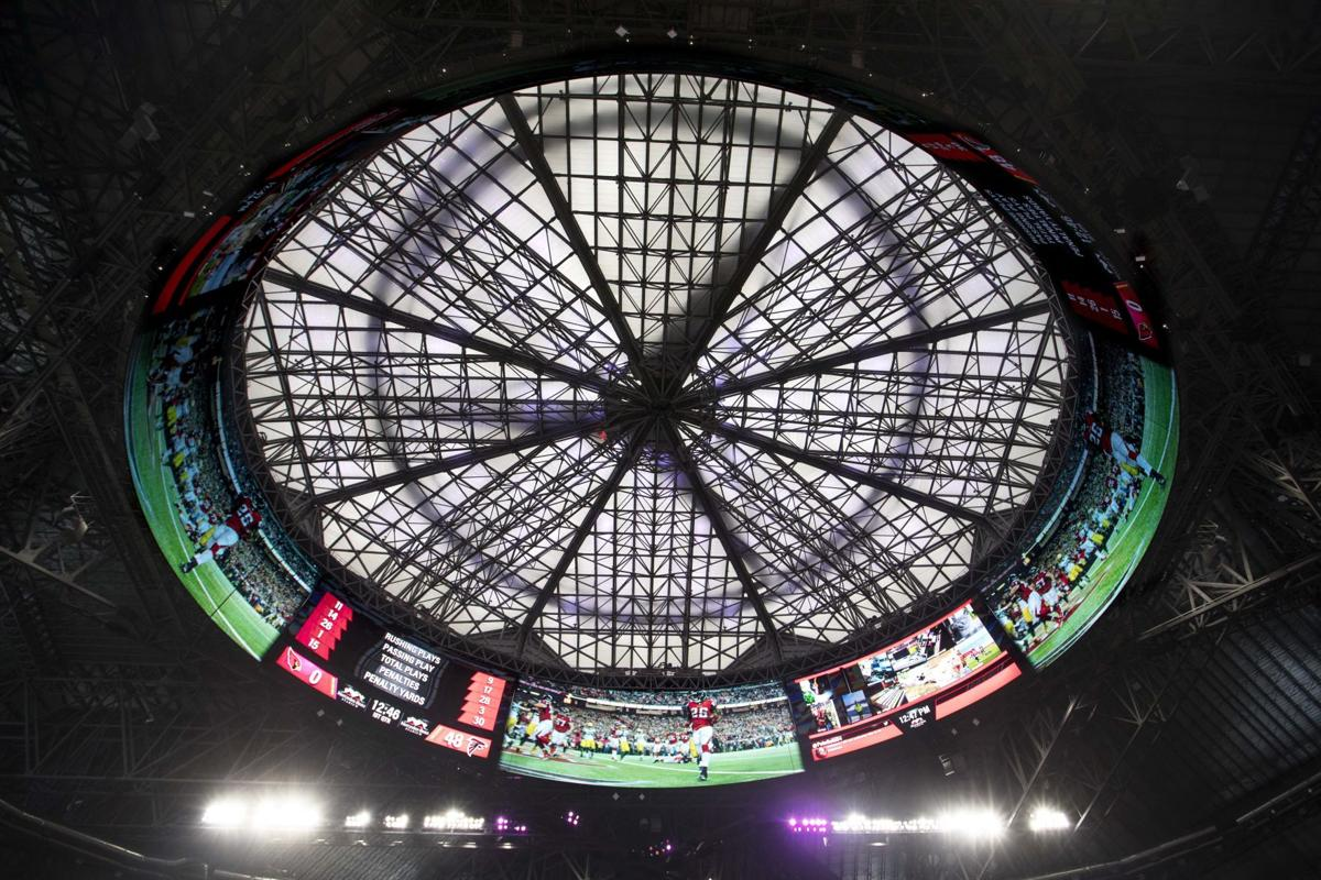 Report: Retractable roof at Falcons' stadium — already ...