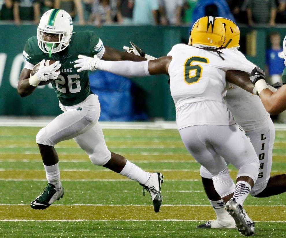 Tulane notebook: Defense, rushing game were bright spots in loss at Central Florida _lowres