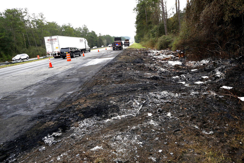 Fatal Crash Interstate Fire Florida