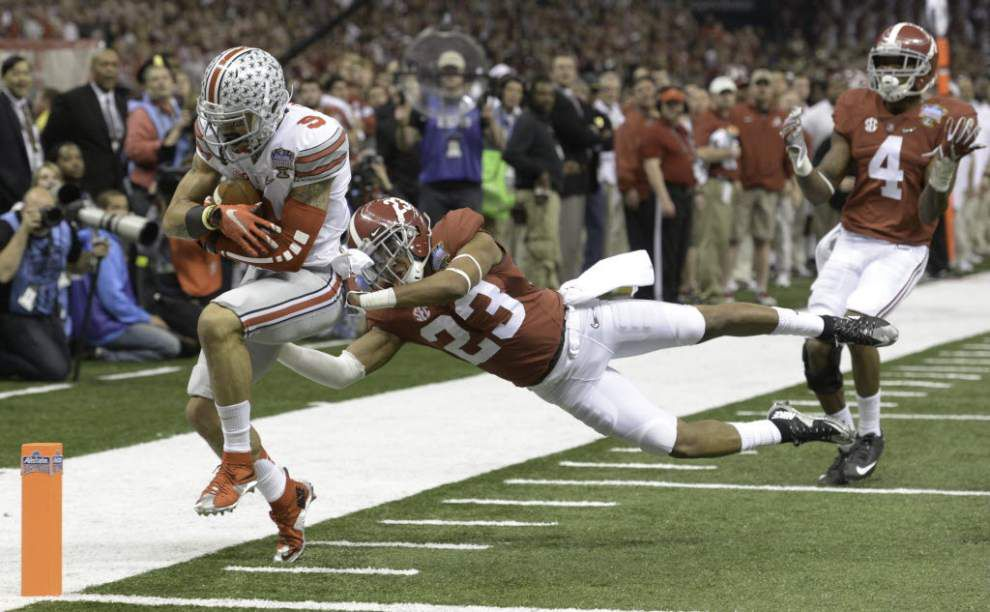 Receiver Devin Smith says the Saints think he is a great player _lowres