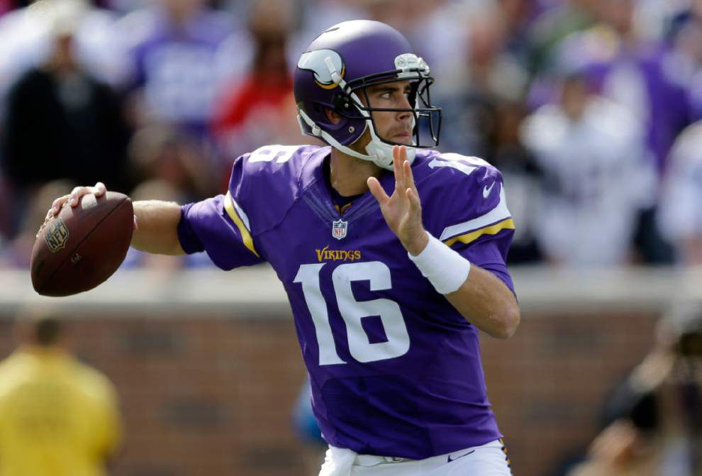 Vikings try to overcome disruptions against Saints _lowres