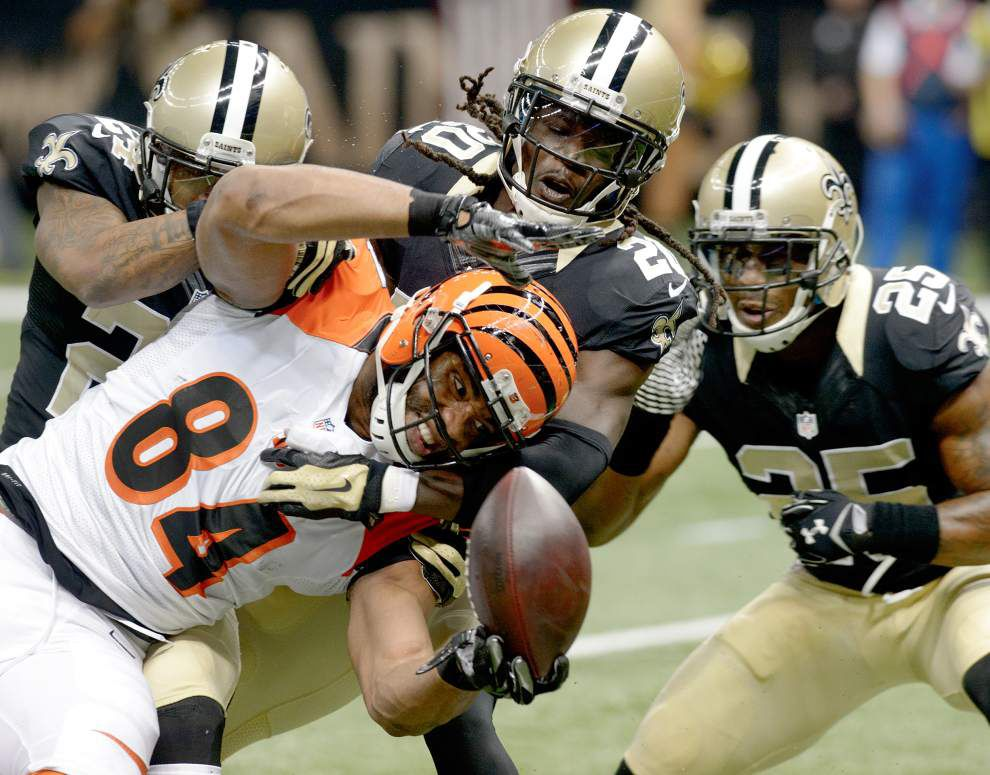 Cincinnati Bengals knock out New Orleans Saints 27-10 in Superdome _lowres