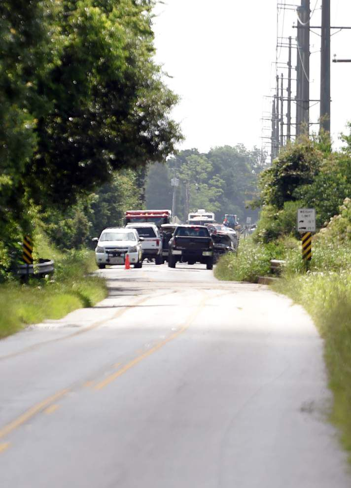 Lafayette mystery slowly unfolds: All we know now is victims in separate, burned vehicles were a man, woman _lowres