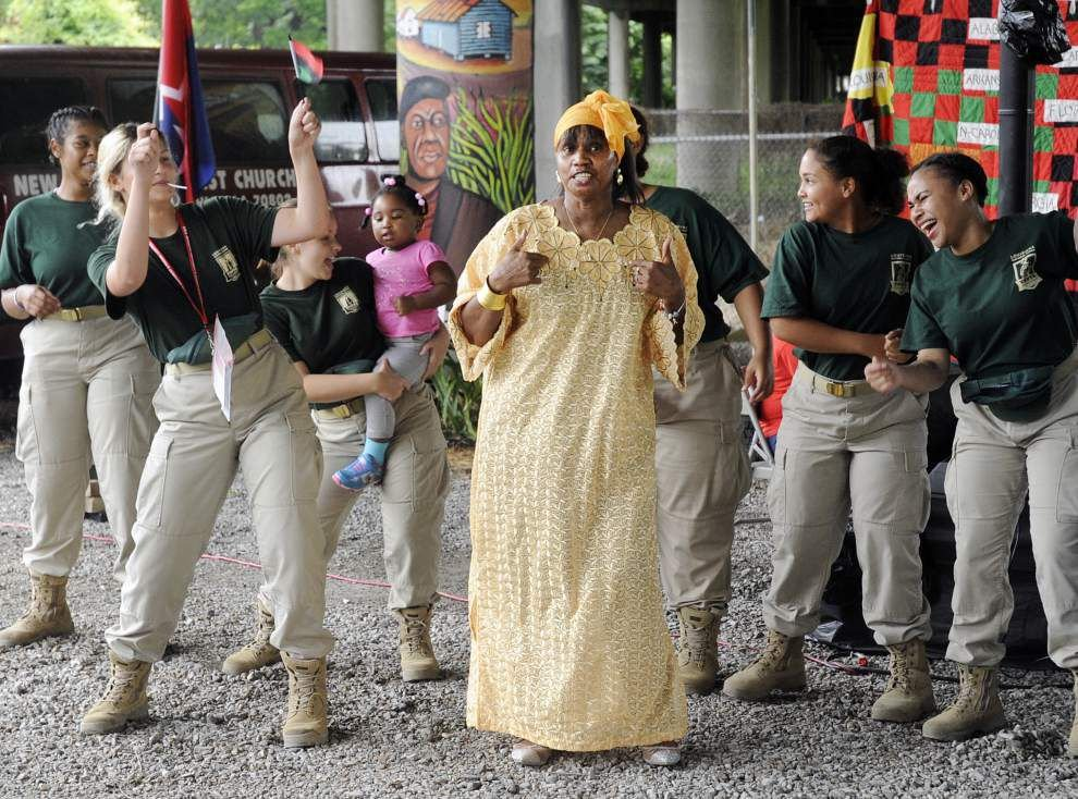 A celebration of Juneteenth resonates under the interstate in Old South Baton Rouge _lowres