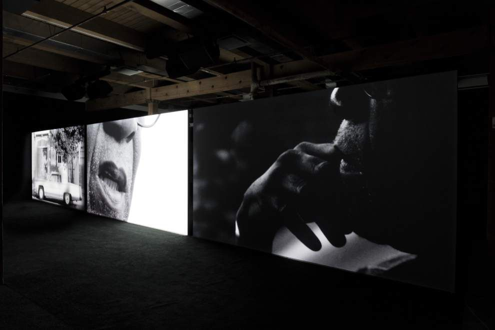 In Adam Pendleton show at CAC, thickets of poetry, politics, art and history _lowres