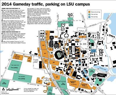 Postgame Traffic Flow Changes More Parking Coming To Tiger Stadium
