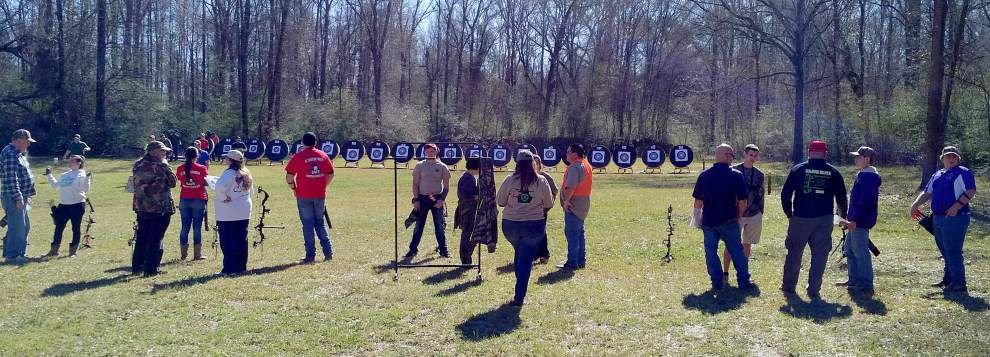 Archery, shotgun part of 4-H shooting event _lowres