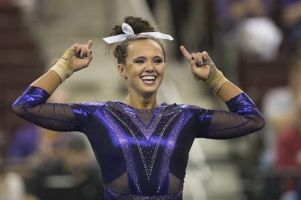 LSU headed to Georgia as No. 1 seed in gymnastics regional _lowres