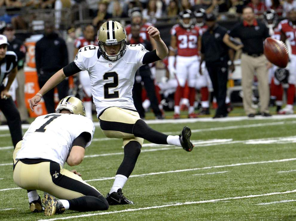 Sources: Zach Hocker out, Kai Forbath in as Saints kicker _lowres