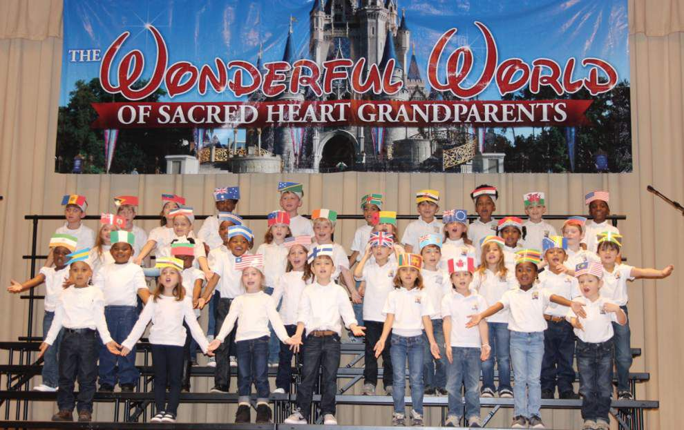 Sacred Heart honors 'wonderful' grandparents _lowres