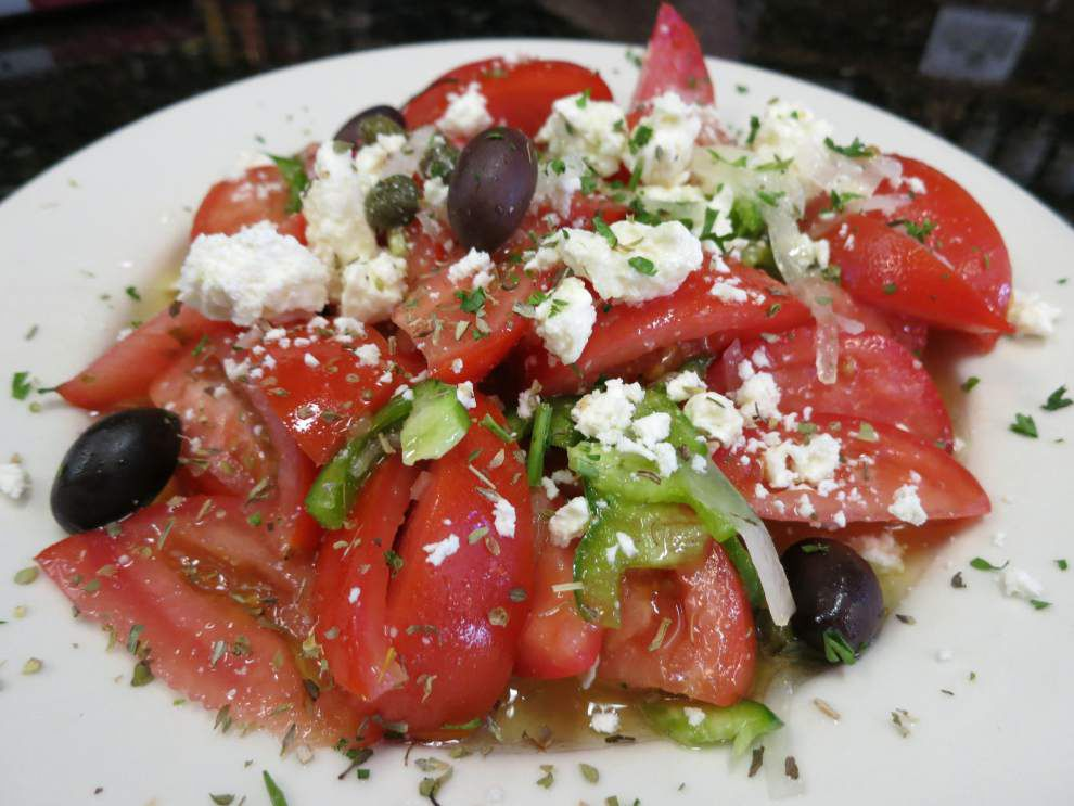 Digging In: Diner's summery salad stars Creole tomatoes _lowres