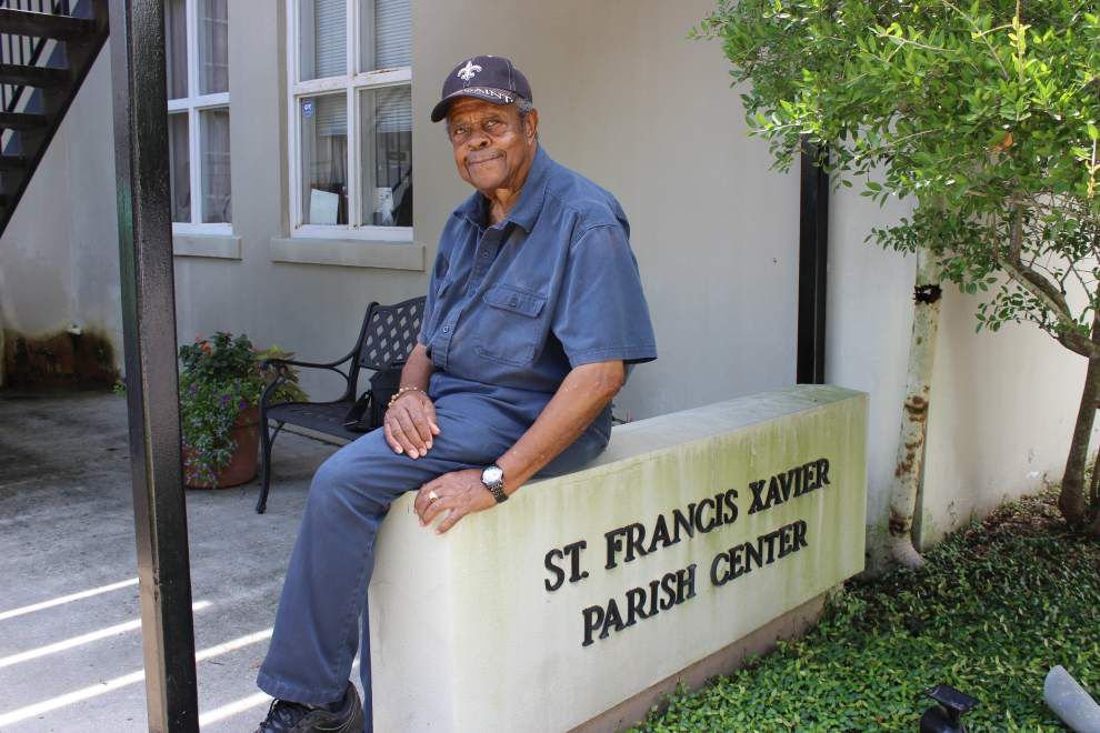 Church, school caretaker marks 65 years at St. Francis Xavier ... with a job offer _lowres