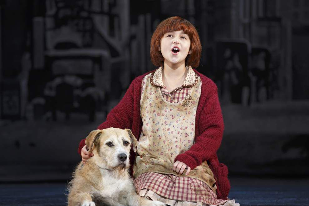 From comic strips to Broadway stage, chipper redhead Annie has a musical lesson _lowres