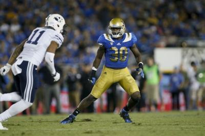 UCLA linebacker Myles Jack works out for Saints, LSU linebacker Deion Jones visits