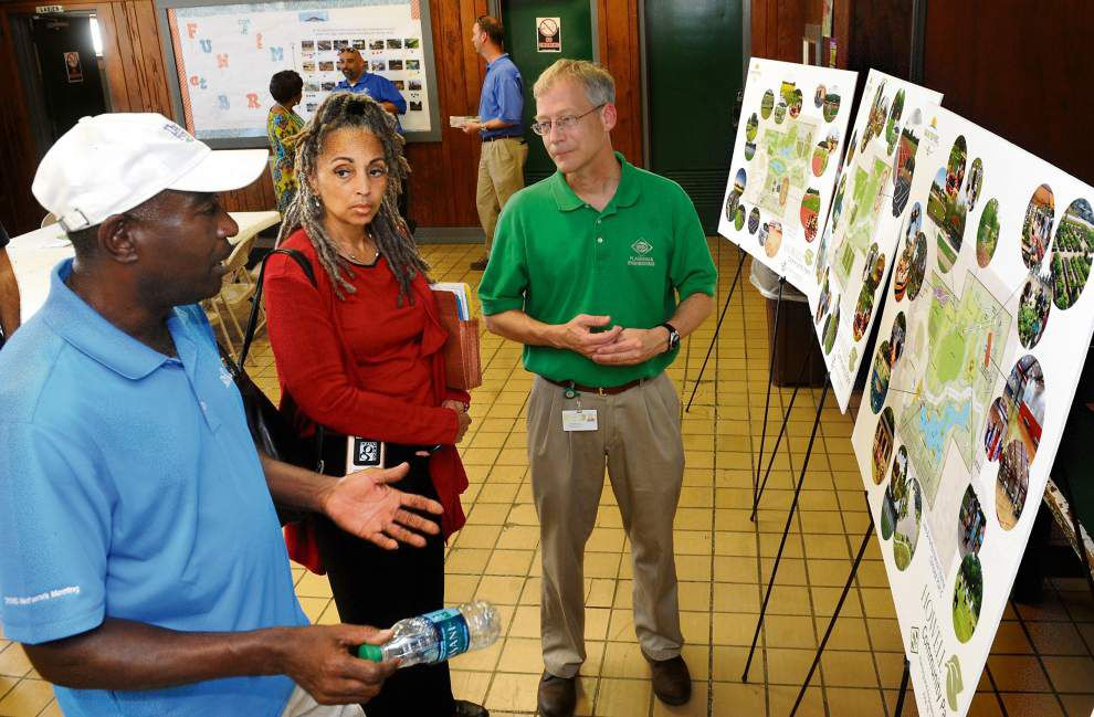 Fishing lake, dog park, community garden among Baton Rouge residents' ideas for revamped Howell Park _lowres