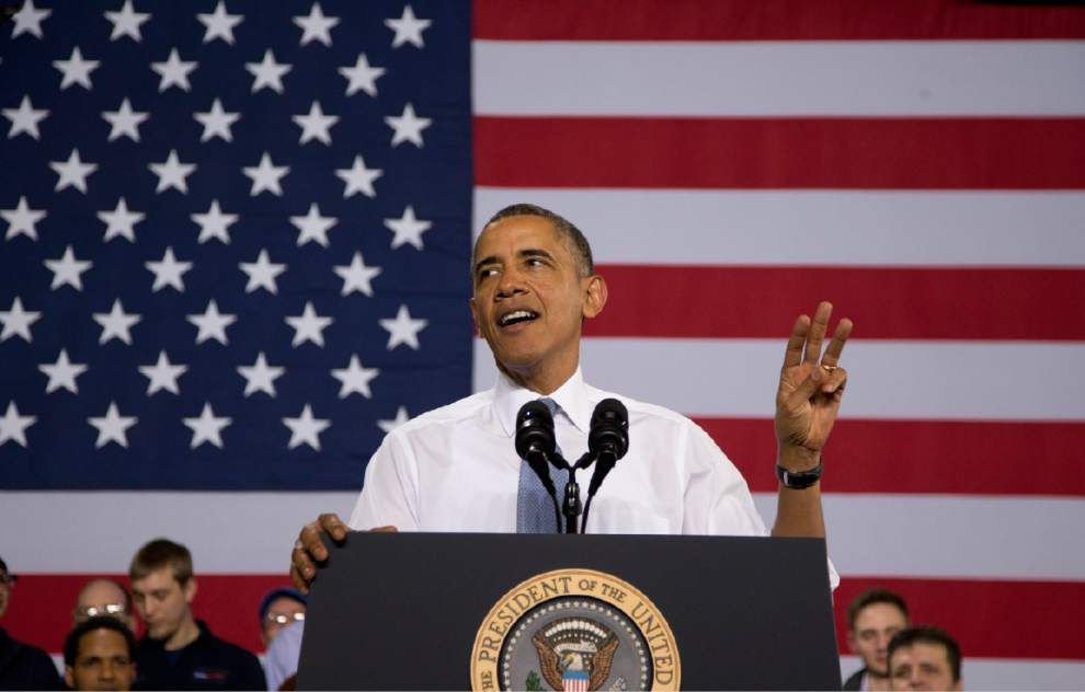 Obama asks CEOs for help hiring long-term jobless _lowres