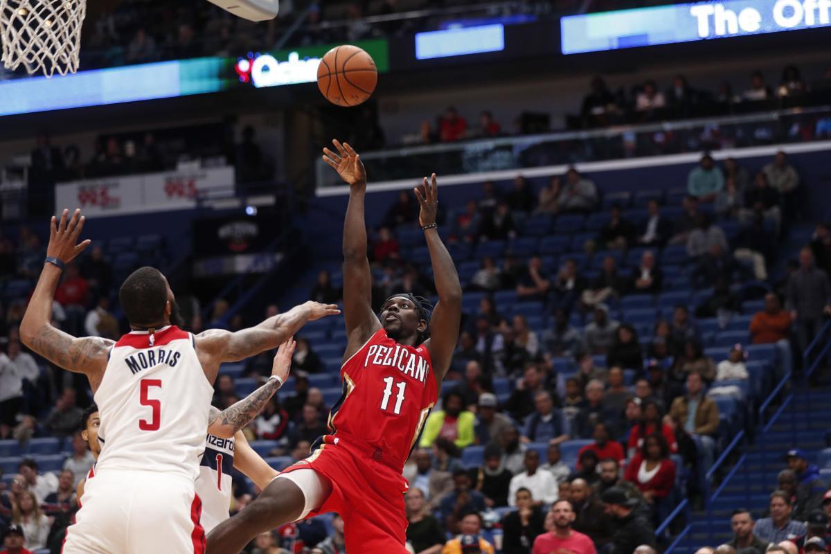 Wizards Pelicans Basketball