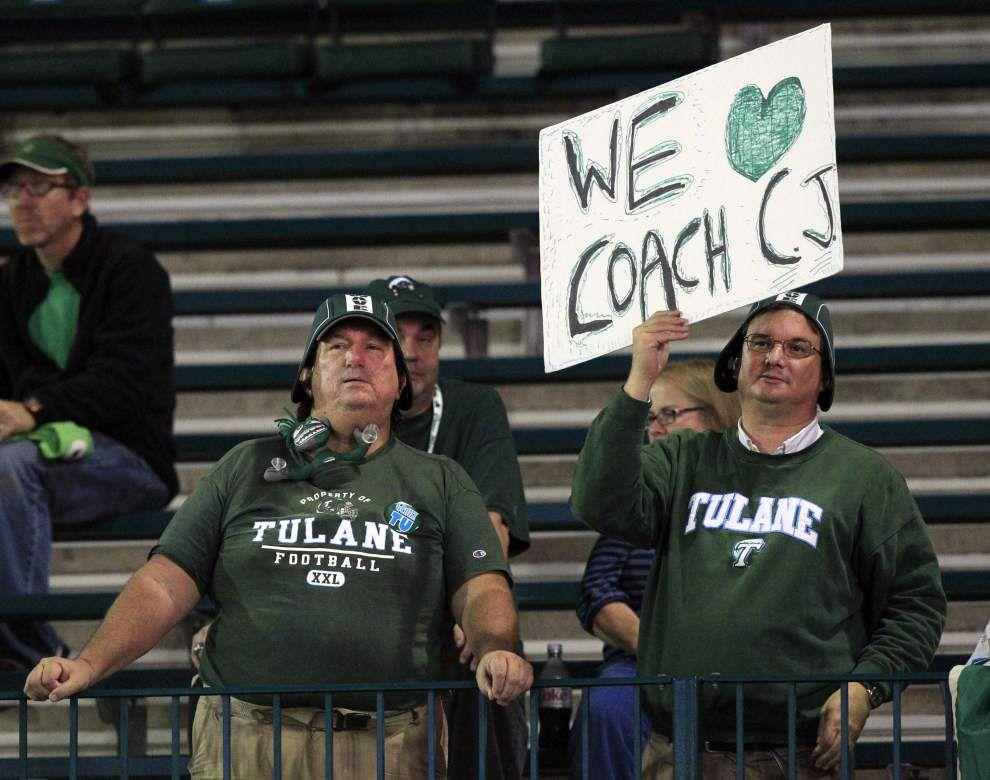 Notebook: Tulane honors seniors before 45-34 loss to Tulsa _lowres