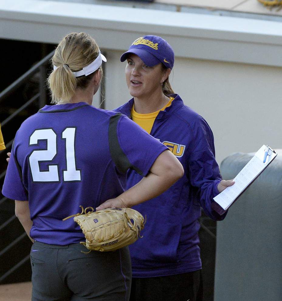 LSU softball faces tough weekend at Mary Nutter Collegiate Classic _lowres