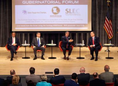 Replay top moments from Thursday's Louisiana governor debate _lowres