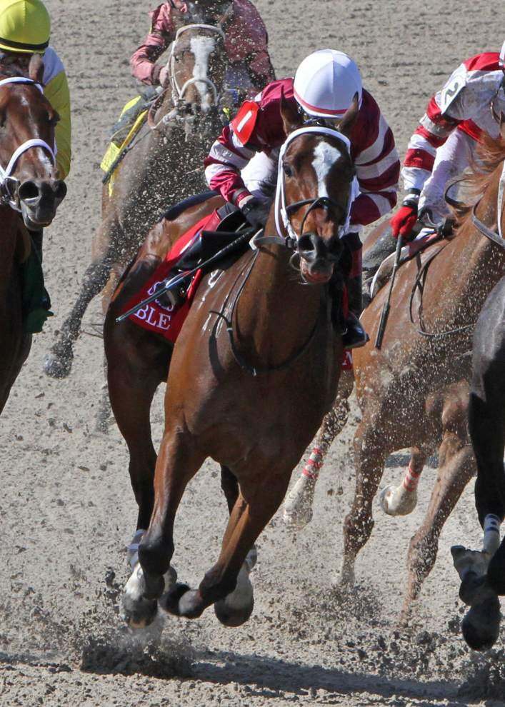 Trainer Dallas Stewart sees no added pressure in Fair Grounds Oaks _lowres