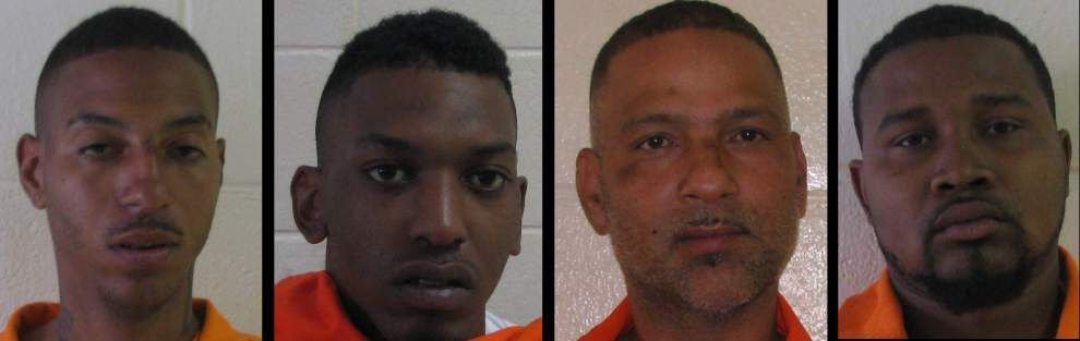 Four arrested in Darrow brazen daytime shooting _lowres