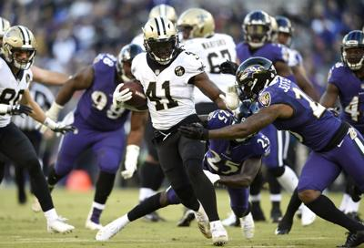 how it happened saints hold off ravens for win thanks to justin