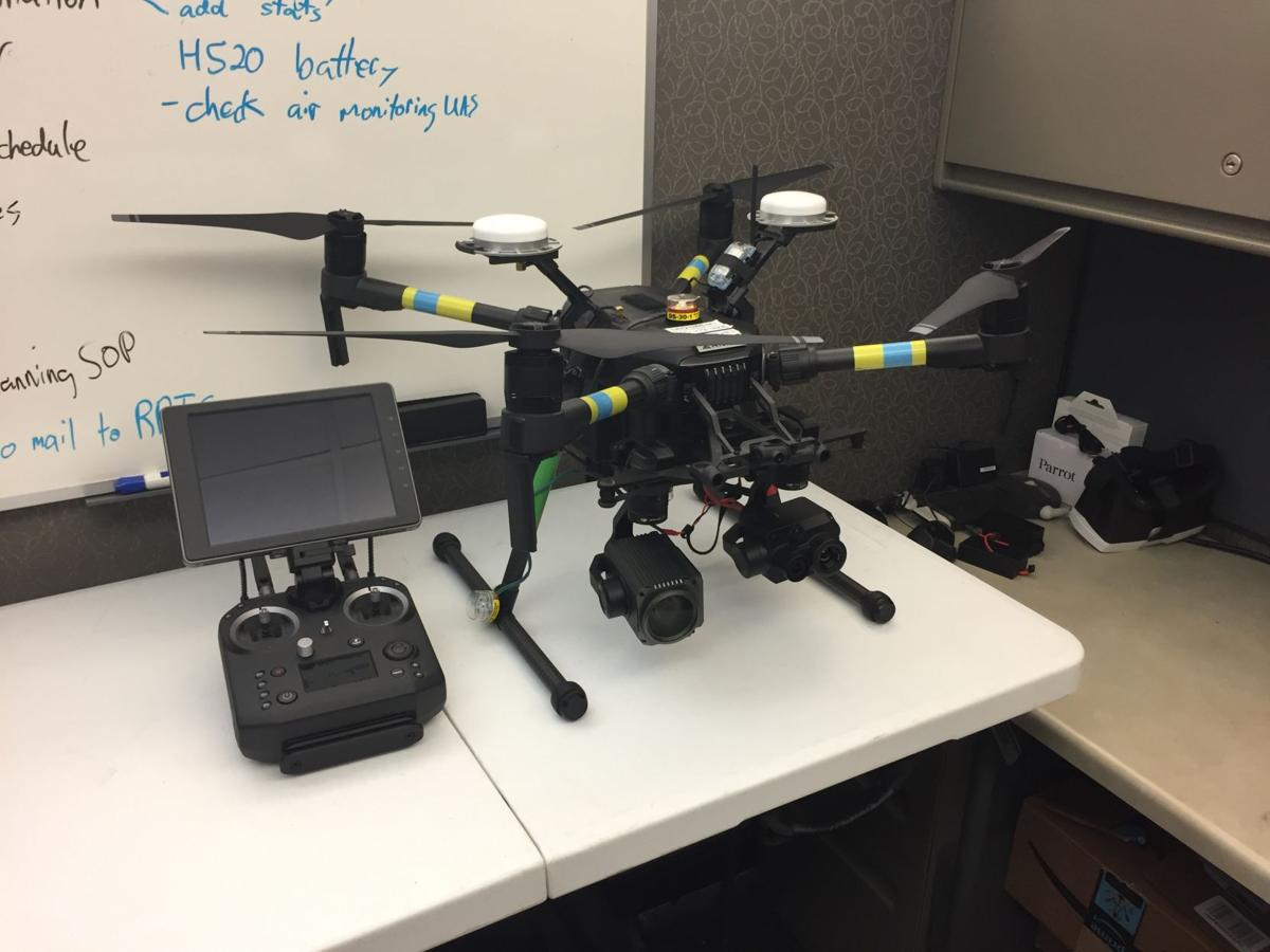 Department of Environmental Quality drone