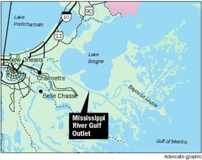 mississippi river gulf outlet map Judge U S Government Liable For Flooding At Mississippi River mississippi river gulf outlet map