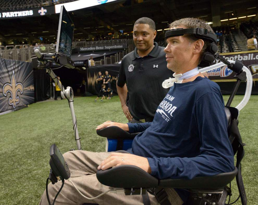 Report: Former Saints player Steve Gleason's 'Team Gleason House' to open next month _lowres