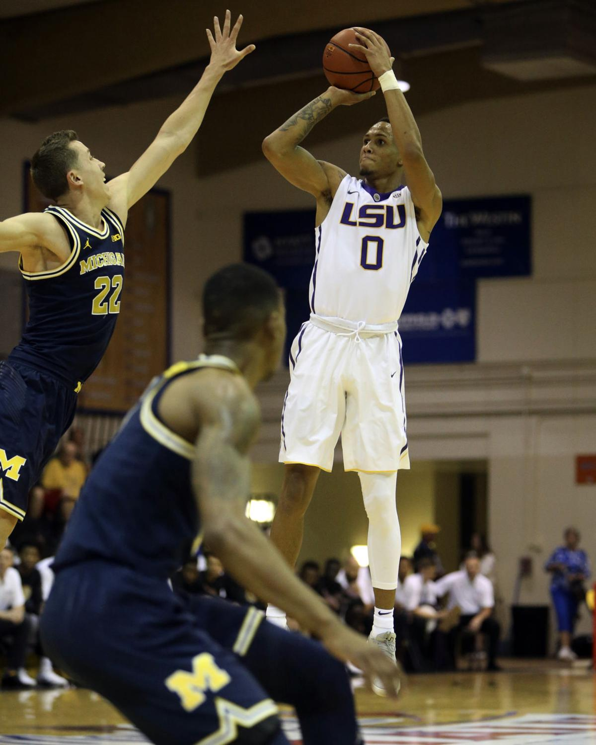Outmanned: LSU loses Brandon Sampson early, then gets mowed down by ...
