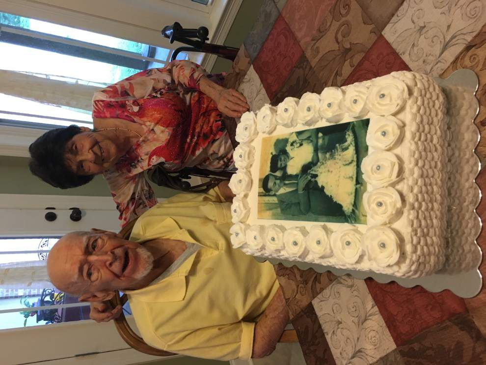 N.O. couple celebrates 70 years of marriage _lowres