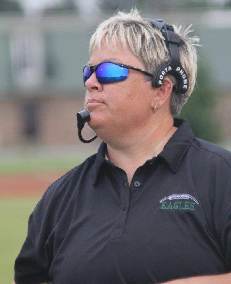 27c0d2b8380c One of Louisiana's first female football coaches, Susan Gremillion's debut  season has laughs, Gatorade