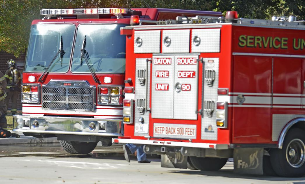 Baton rouge fire department arson cause of fire at vacant for Department of motor vehicles in new orleans