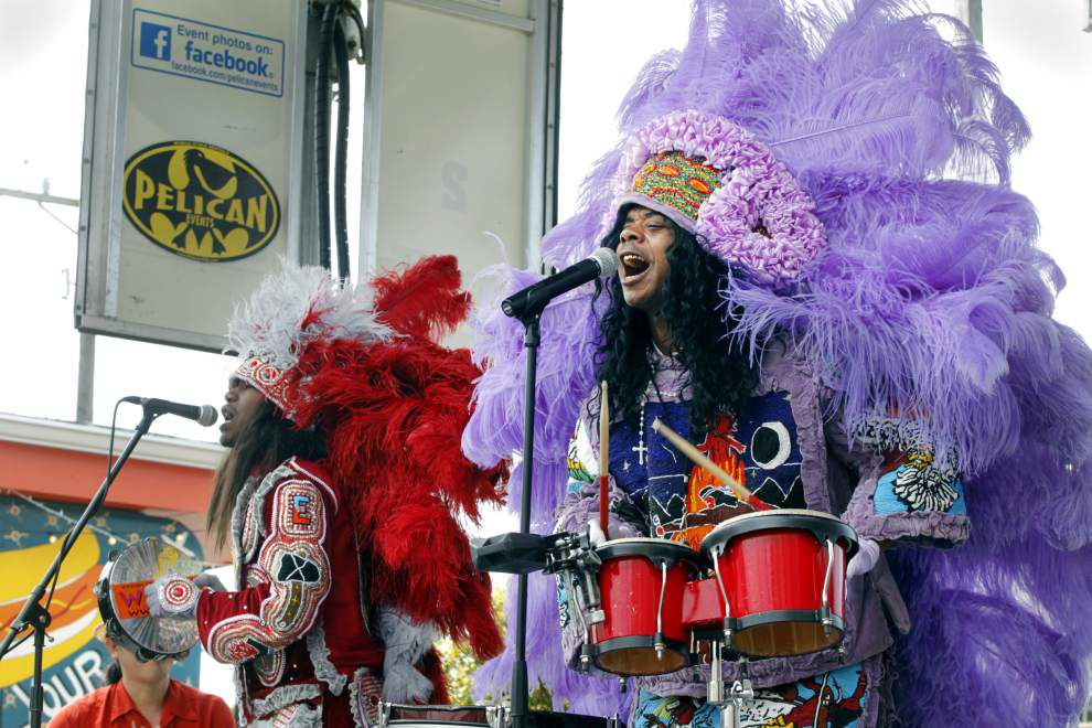 Cha Wa, a different kind of Mardi Gras Indian band, steps out with 'Funk 'n' Feathers' _lowres