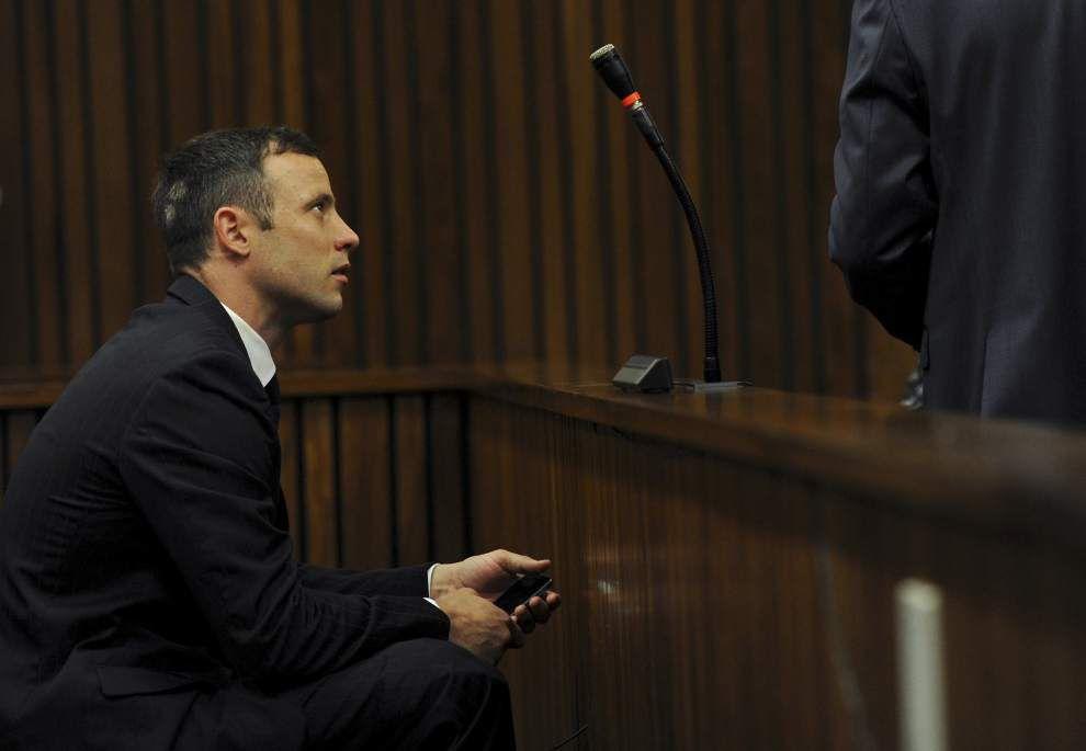 Oscar Pistorius a 'broken man,' psychologist says in sentencing hearing _lowres