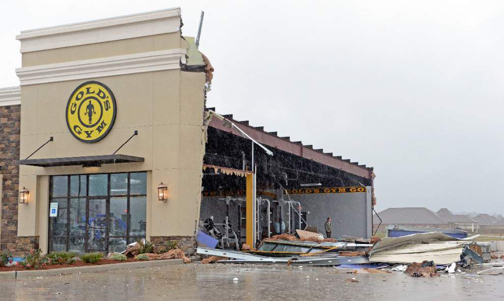 Photos, videos: Storm toll in Baton Rouge area includes heavy damage to homes, businesses _lowres