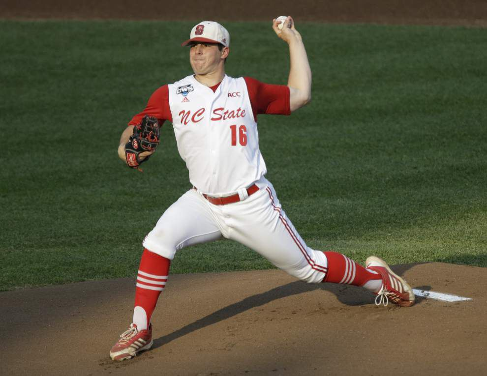 N.C. State's Carlos Rodon: still college baseball's best pitcher? _lowres