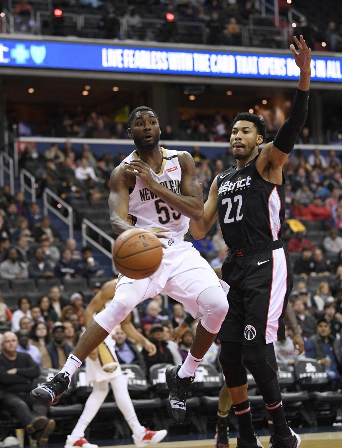 Pelicans Wizards Basketball