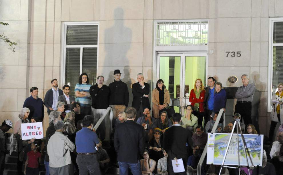 'Place Mouton' proposals in downtown Lafayette generating supporters and opponents — some want statue removed _lowres
