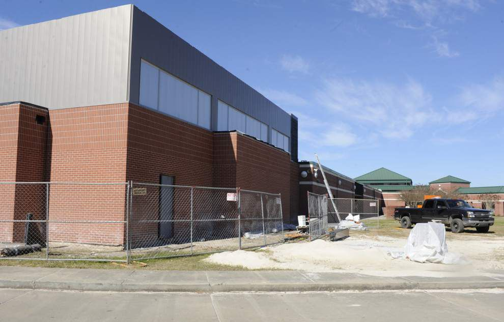 Thibodaux STEM Magnet Academy expansion nears completion _lowres