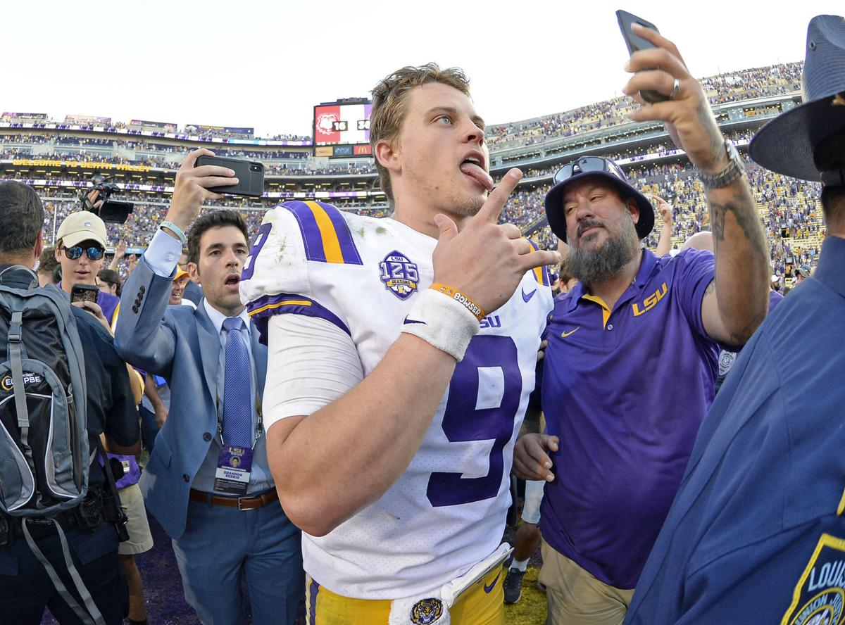 Video: LSU's Joe Burrow on how team bounced back from loss ...